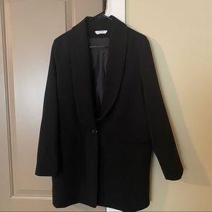 Biancoghiaccio Black Oversize Blazer IT 42